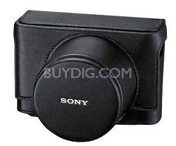 LCJRXB/B Genuine leather jacket case for the Sony DSC-RX1/B