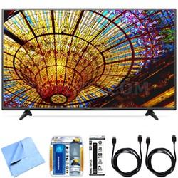 65UF6450 - 65-Inch 2160p 4K Ultra HD Smart LED TV Essential Accessory Bundle