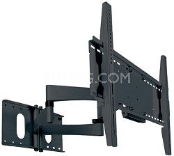 "PMA-771 Articulating Arms Dual Stud Wall Mount for 40"" to 60"" Screens (Black)"