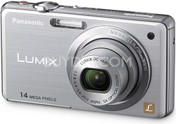 DMC-FH3S LUMIX 14.1 Megapixel Digital Camera (Silver)