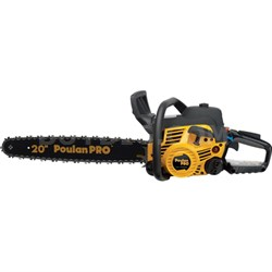 Pro PP5020AV 20-inch 50cc 2-Cycle Gas Powered Chainsaw with Case