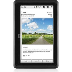 "4.3"" Touch Screen Android 2.2 Twig 4GB Tablet, Dual Core Processor (Black)"