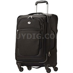 """21"""" Carry On DeLite 2.0 Luggage Spinner Black"""