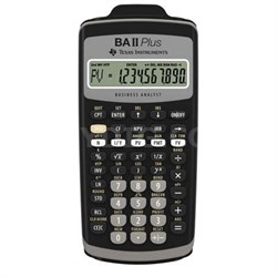 Plus Financial Calculator with Slide Case - BA-II-PLUS