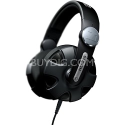 HD 215 Extreme DJ Sound Headphones with Swivel Earcup & Detachable Coiled Cable
