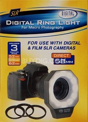 Digital Concepts 518AF Digital Ring Light Flash for Macro Photography