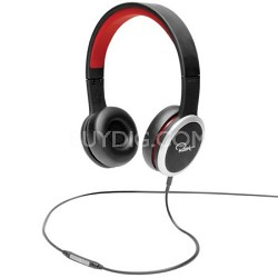 Chambers by RZA Street On-Ear Headphones - Black/Red
