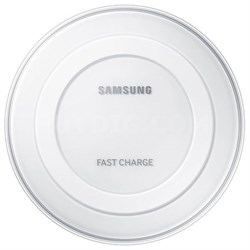 Fast Charge Qi Wireless Charging Pad - White - OPEN BOX