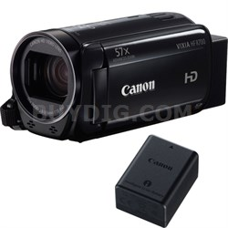 VIXIA HF R700 Full HD Black Camcorder with Canon BP-718 Lithium-Ion Battery Pack