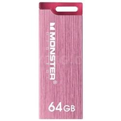 64GB USB 3.0 Super Speed Colors Drive (Metallic Pink)