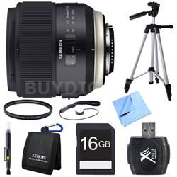 SP 35mm f/1.8 Di VC USD Lens for Nikon Mount Bundle