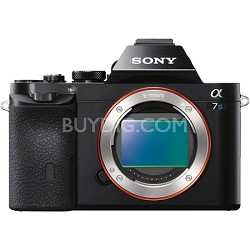 ILCE-7S/B a7S Full Frame Mirrorless Camera