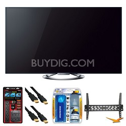 "KDL-55W900A 55"" LED Internet HDTV Wall Mount Bundle"