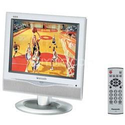 """TC-17LA2 17"""" Diagonal LCD TV with Built-In Stereo Speakers"""