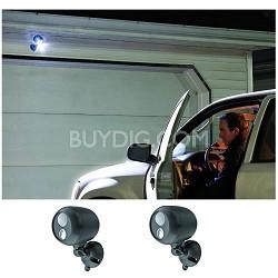 MB360 Wireless LED Spotlight with Motion Sensor 2 Pack