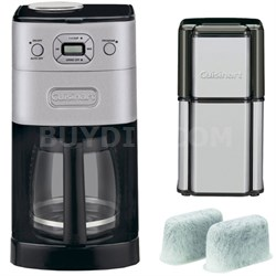 Grind & Brew 12-Cup Refurb Automatic Coffee Maker w/ Refurbished Bundle
