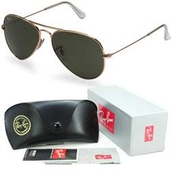 Aviator Classic Metal Sunglasses Gold 55mm