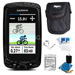 Edge 810 Cycling Monitor and Sensors GPS and Extended Warranty Kit
