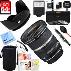 EF-S 10-22mm F/3.5-4.5 USM Lens + 64GB Ultimate Kit