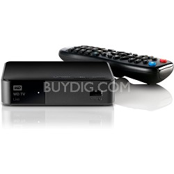 WD TV Live Streaming Media Player, Wi-Fi, Full-HD 1080p, DLNA