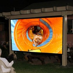 "193"" Diagonal Outdoor Screen"