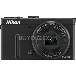 "COOLPIX P330 12.2MP 3.0"" LCD Black Digital Camera with 1080p HD Video"