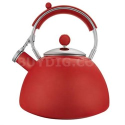 Journey 2.3-Quart Red Teakettle - 2503-1017