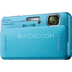 Cyber-shot DSC-TX10 Blue Digital Camera - OPEN BOX