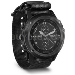 Tactix Bravo GPS Watch - Black w/ Nylon Straps (010-01338-0A)