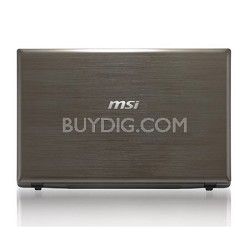 GE620DX-278US 15.6-Inch Metal Laptop - Dark Grey  i7-2630QM