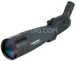 Ultima 100 ED Spotting Scope with 22-66x Zoom Eyepiece - 45 degree Angle