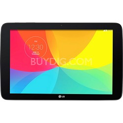 """16GB G Pad 10.1"""" IPS Multi-Touch Display Wi-Fi Tablet with Quad-Core CPU (Black)"""