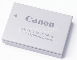 Battery pack NB-5L f/ Powershot SX200 IS, SD990 IS, SD970 IS, SD790 IS, SD880 IS