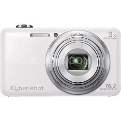 DSC-WX80 16 MP 2.7-Inch LCD Digital Camera - White