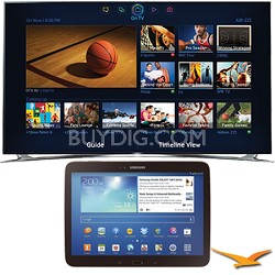 "UN46F8000 - 46"" 1080p 240hz 3D Smart Wifi LED HDTV 10.1-Inch Galaxy Tab 3 Bundle"