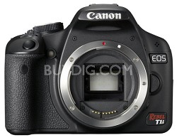 EOS Rebel T1i / 500D Body - FACTORY REFURBISHED