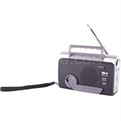 FM Weather Band Dynamo Radio - 01511