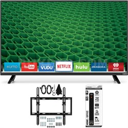 D40-D1 - D-Series 40-inch Full-Array LED Smart HDTV Flat/Tilt Wall Mount Bundle