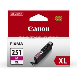 CLI-251 Magenta XL Ink Tank for PIXMA iP7220, MG5420, MG6320 Printers