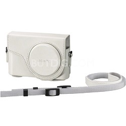 LCJWDW Jacket Case for Sony DSC-WX300 White