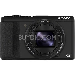 Cyber-shot DSC-HX50V 20.4 MP 30x Optical Zoom WiFi Digital Camera