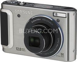 TL320 12MP 3 inch AMOLED LCD Digital Camera (Silver)
