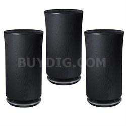 3-Pack Radiant 360 R5 Wi-Fi Bluetooth Speaker