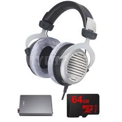 DT 990 Premium Headphones 32 OHM w/ FiiO E12 Pro Amplifier Bundle