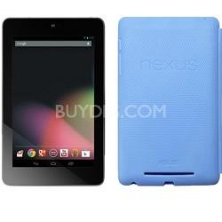 Google Nexus 7 ASUS-1B32 32GB Tablet + Original Nexus Case (Light Blue)