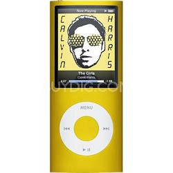 iPod Nano 4th Generation 8GB MP3 Player - Yellow