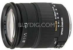 Wide Angle Zoom 18-200mm f3.5-6.3 DC OS (Optical Stabilizer) Lens for EOS DSLRs