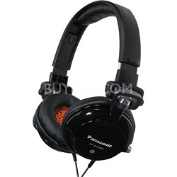 RP-DJS400-K DJ Street Model Headphones (Black)