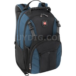 The SHERPA Laptop Notebook Computer Backpack Blue/Black