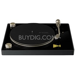 Life on Record USB Belt Drive Turntable (TVT2002BLK)